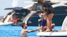 Leo Messi disfruta estos días con su familia de las playas de Ibiza