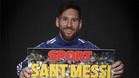 Leo Messi habló de cómo se siente en Catalunya