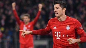 Lewandowski, en el nombre del gol