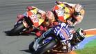 Lorenzo, Márquez y Pedrosa buscan acabar el año con una victoria
