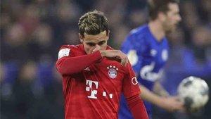 Los días de Coutinho en Múnich parecen tocar a su fin