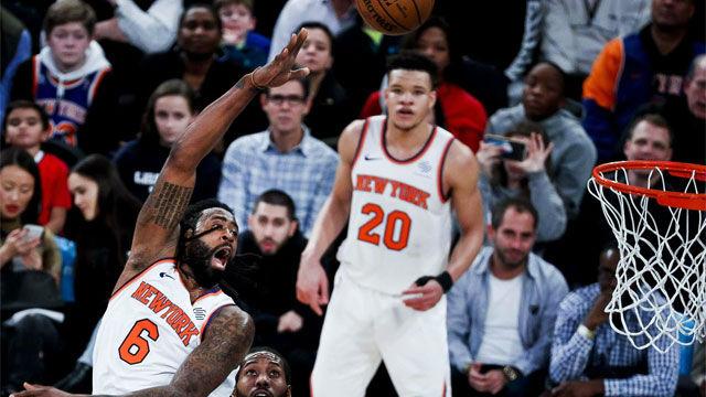 Los Knicks vuelven a ganar 19 partidos después