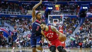 Los Raptors se impusieron con autoridad a los Hornets de Charlotte