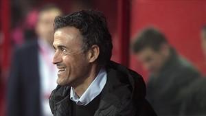 Luis Enrique, en el cásting del PSG