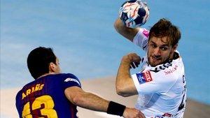 Luka Cindric, la pasada temporada contra el Barça