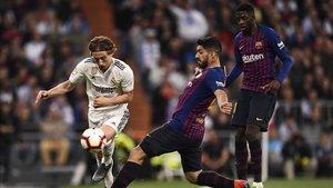 Luka Modric es de los pocos que se salvan en el Real Madrid