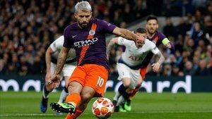 El Manchester City deberá remontar el 1-0 con el que cayó ante el Tottenham
