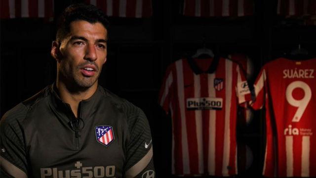 El mensaje de bienvenida de Luis Suárez a la afición del Atlético
