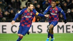 Messi liderará el ataque del Barça en Valencia