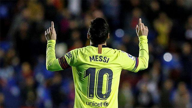 Messi, el mejor de Europa