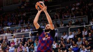 Mirotic es el máximo ártillero del Barça tanto en ACB como en Euroliga