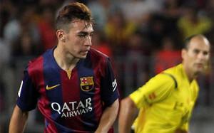 Munir marcó dos goles ante el León