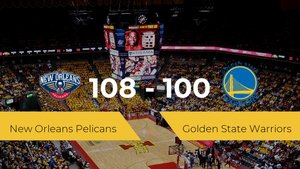 New Orleans Pelicans logra vencer a Golden State Warriors en el Smoothie King Center (108-100)