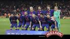 El once del Baçra que inició el partido de Copa ante el Valencia