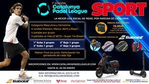 Participa en la mejor liga social de pádel por parejas de Catalunya