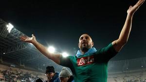 Pepe Reina está disputando sus últimos partidos en Nápoles