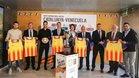 La presentación del Catalunya - Venezuela en Girona