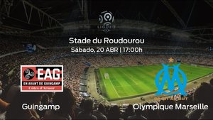 Previa del encuentro: el Olympique Marseille visita al Guingamp en el Stade du Roudourou