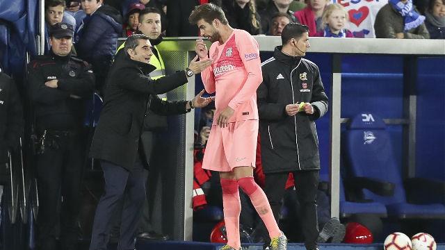 ¿Qué discutieron Valverde y Piqué?