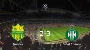 El AS Saint Etienne se lleva los tres puntos ante el FC Nantes (2-3)