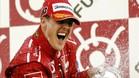 Schumacher es el piloto más laureado en Japón, con seis triunfos