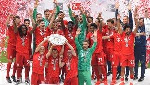 Séptima Bundesliga seguida para los muniqueses
