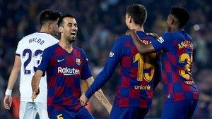 Sergio Busquets advirtió que el Barça tendrá una semifinal de la Supercopa de España muy complicada ante el Atlético