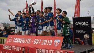 Torneo internacional de futbol base Terres del Ebre de la pasada edición