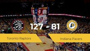 Toronto Raptors logra vencer a Indiana Pacers en el Scotiabank Arena (127-81)