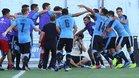 Uruguay logró una valiosa victoria frente a la selección de Brasil
