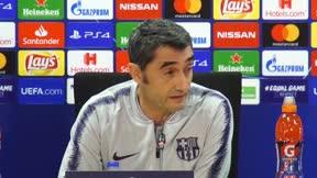 Valverde aconseja a Dembélé para que tenga más minutos
