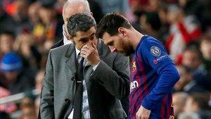 Valverde contará con Messi para el partido contra el Levante