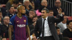 Valverde cuenta con Arturo Vidal
