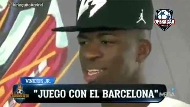 El vídeo que delata a Vinicius tras renegar del Barça