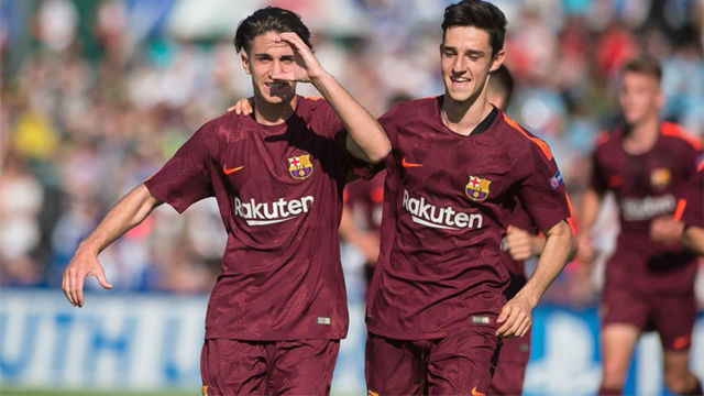 YOUTH LEAGUE | Manchester City - FC Barcelona (4-5)