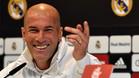 Zidane, entrenador del Real Madrid, en rueda de prensa