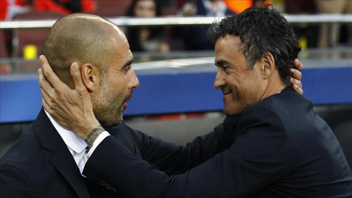 Guardiola y Luis Enrique coleccionan títulos para el Barcelona