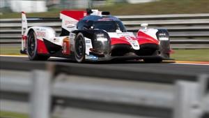 Alonso, al volante del Toyota