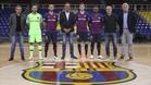 Albert Soler, Dídac, Boyis, Vidal-Abarca, Adri Ortego, Arthur, Andreu Plaza y Txus Lahoz