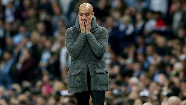 De la alegría a la incredulidad: el VAR dejó con esta cara al City de Guardiola