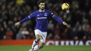 André Gomes está brillando este curso en el Everton