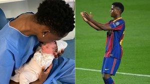 Ansu Fati celebró su gol en Champions mandando un emotivo mensaje