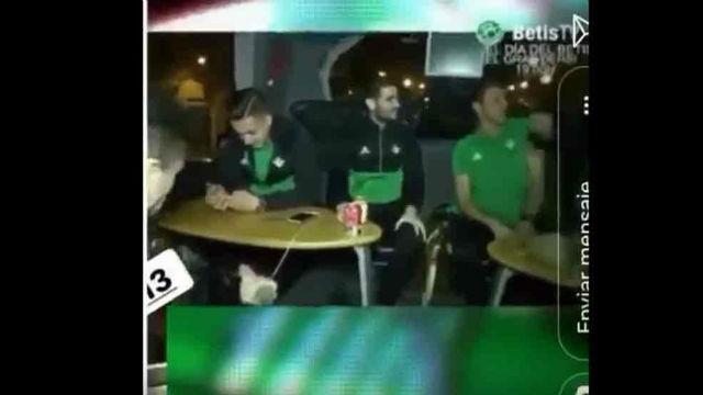 Antonio Adán reitera sus disculpas por el cántico con el que celebró la victoria del Betis en el derbi ante el Sevilla