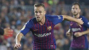 Arthur, uno de los mejores del Barça