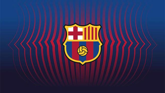 Así es el nuevo escudo del FC Barcelona