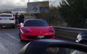 Así quedó el Ferrari de Neymar tras el accidente