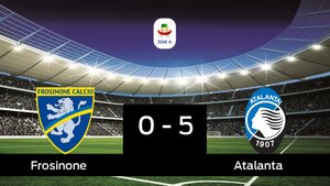 El Atalanta se lleva tres puntos a casa al vencer Frosinone