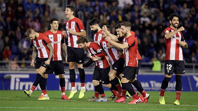 El Athletic vuelve a pasar por penaltis ante el Tenerife