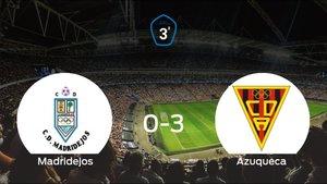 El Azuqueca golea 0-3 en el domicilio del Madridejos