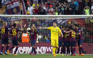 El Barça endosó un 6-0 al Getafe en su última visita al Camp Nou la temporada pasada